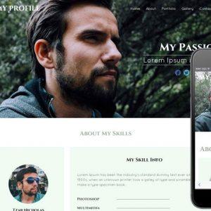 طراحی وب شخصی و نمونه کار