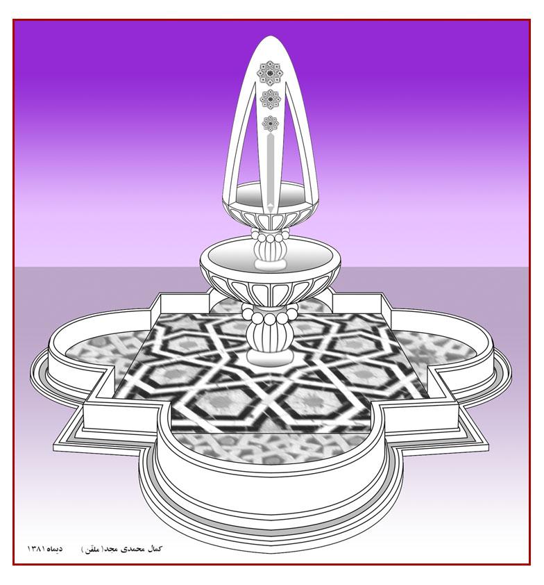 Decoration Varamin graphicshop ir 017 - طراحی محیطی، میادین و یادمان