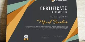 certificate sample graphicshop ir 014 360x180 - طراحی گواهی نامه