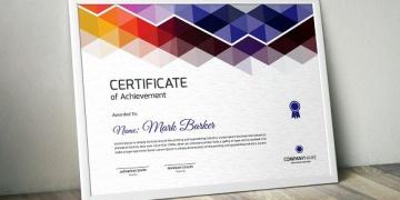 certificate sample graphicshop ir 021 360x180 - طراحی گواهی نامه